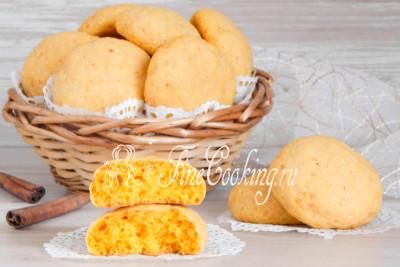Шаг 11. Снимаем готовое тыквенное печенье с противня и уже можно наслаждаться