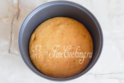 Готовим пирог с тыквой на режиме Выпечка 1 час 20 минут