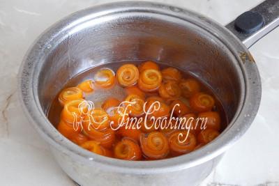 Даем варенью из апельсиновых корок полностью остыть
