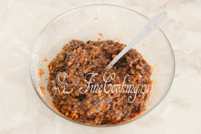 Перемешиваем - витаминная смесь или паста Амосова готова