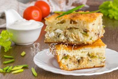 А можете дать наливному пирогу с рыбой и рисом остыть, а затем наслаждаться вкусной и ароматной домашней выпечкой