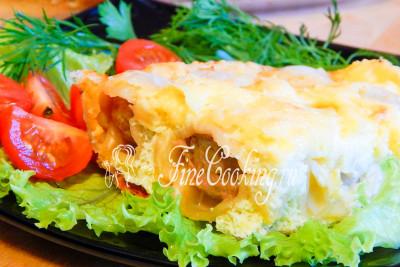 Очень вкусно с зеленым салатом, свежими овощами и зеленью