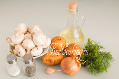 Как жарить маринованные грибы на сковороде