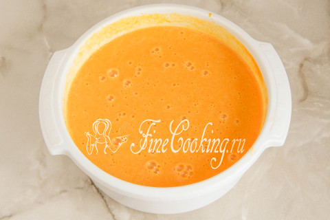 Американский тыквенный пирог (Pumpkin pie). Шаг 11