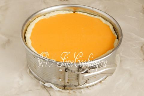 Американский тыквенный пирог (Pumpkin pie). Шаг 15