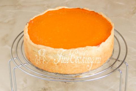 Американский тыквенный пирог (Pumpkin pie). Шаг 17