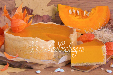 Американский тыквенный пирог (Pumpkin pie). Шаг 19