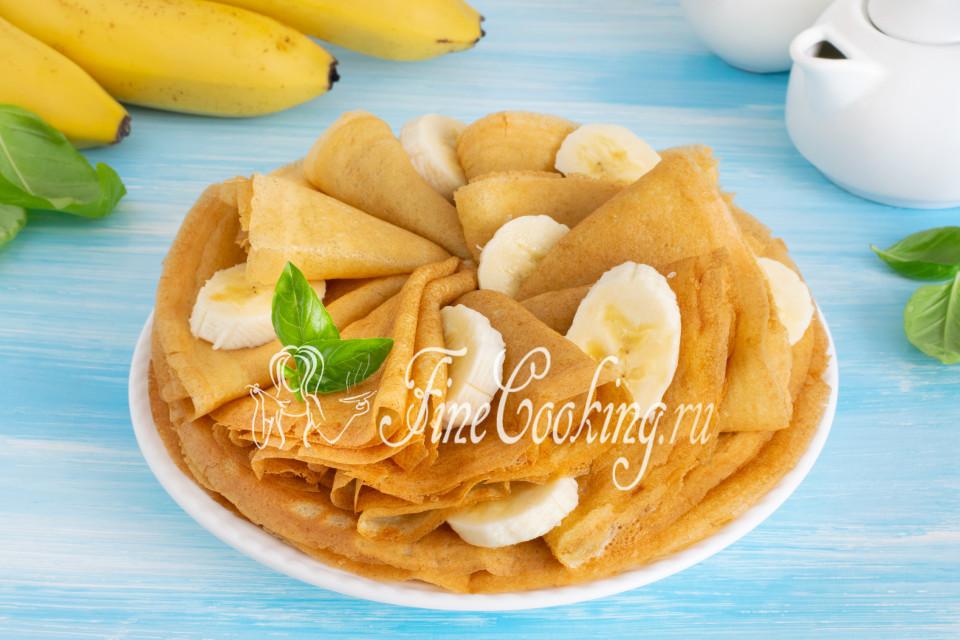 Банановые блинчики