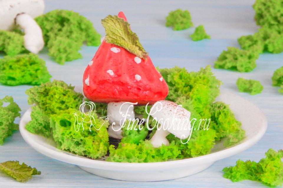 бисквит мох рецепт