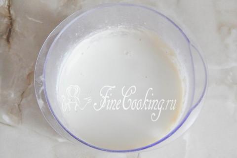 Блинчики на молоке и воде. Шаг 4.