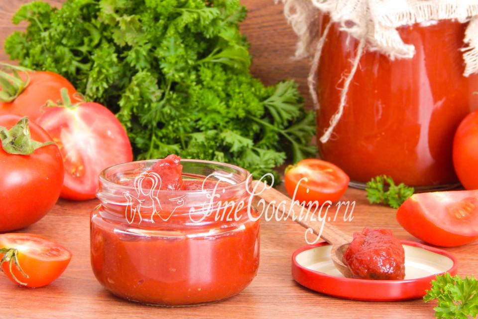 домашняя томатная паста для ребенка рецепт