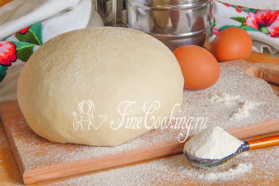 Дрожжевое тесто холодным способом для пирожков