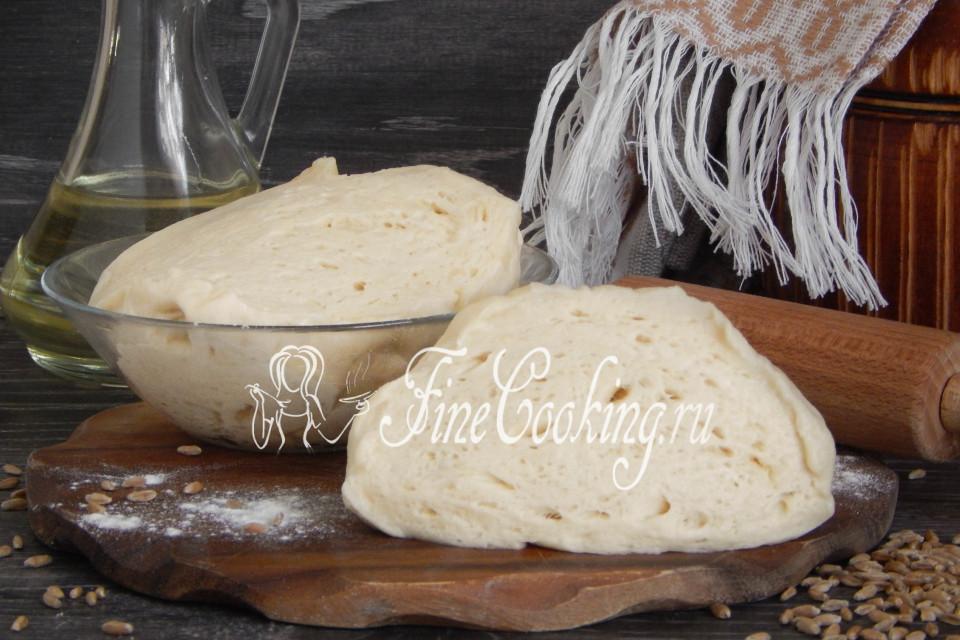 Тесто дрожжевое на растительном масле