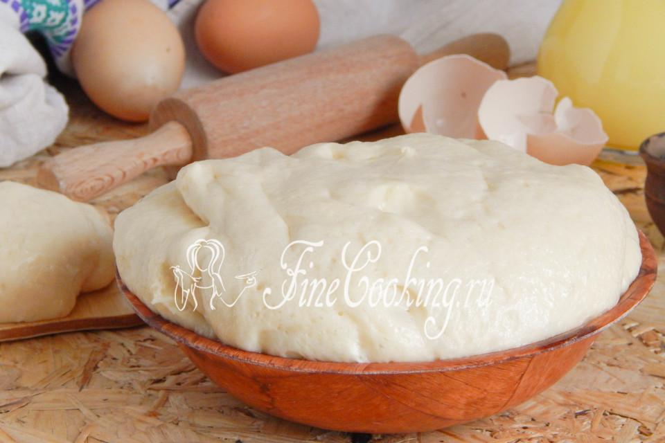 мягкое дрожжевое печенье рецепт с фото