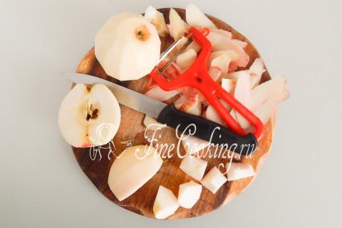 Дрожжевой яблочный пирог. Шаг 7