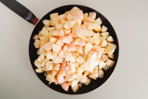 Дрожжевой яблочный пирог. Шаг 11