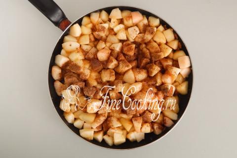 Дрожжевой яблочный пирог. Шаг 12