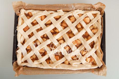 Дрожжевой яблочный пирог. Шаг 21