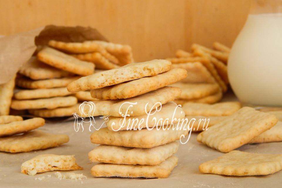Галеты печенье рецепт с фото