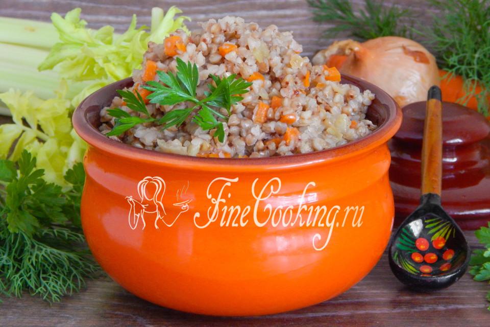 гречка в горшочках в духовке рецепты с фото