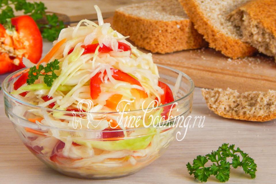 Рецепт приготовления сладкой капусты быстрого приготовления