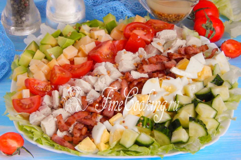 салат кобб рецепт по шагово