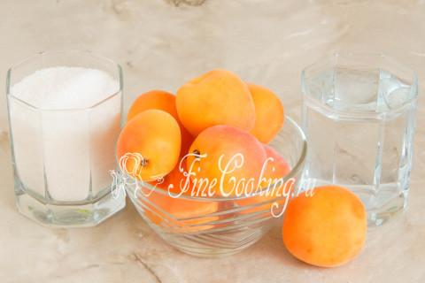 Компот из абрикосов на зиму. Шаг 1