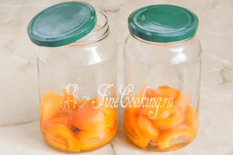 Компот из абрикосов на зиму. Шаг 6