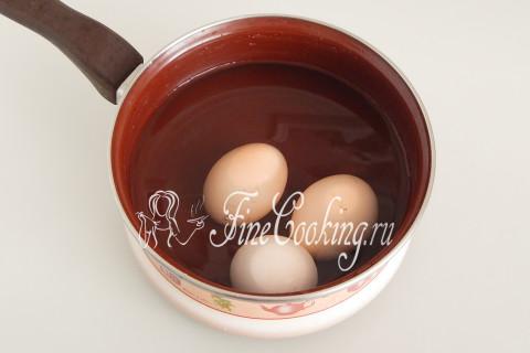 Пора переходить к следующей начинке - рису с яйцами и укропом
