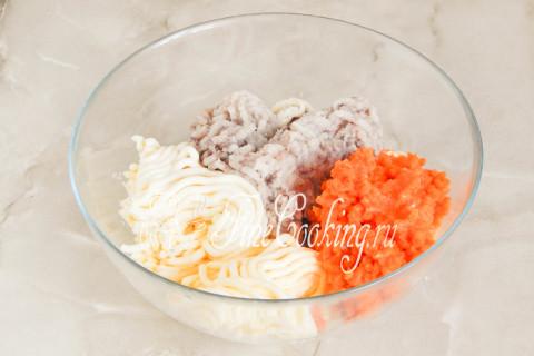 Ложная икра из сельди и моркови. Шаг 6
