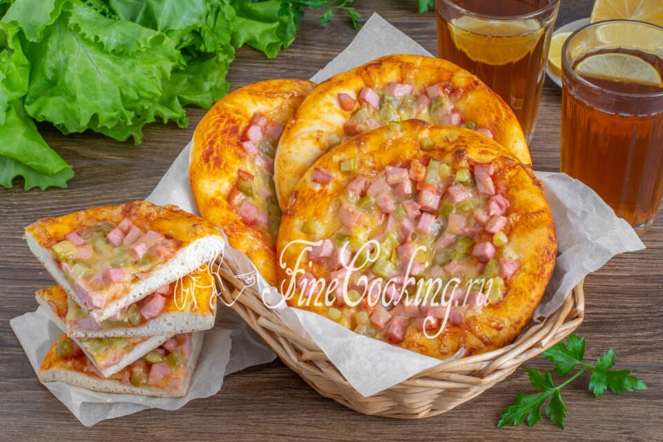 Мини-пицца Школьная