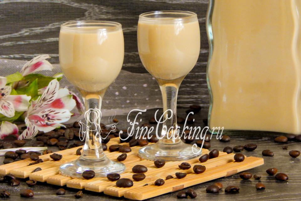кофейно-ванильный ликер рецепт