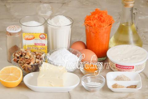 Морковный торт. Шаг 1