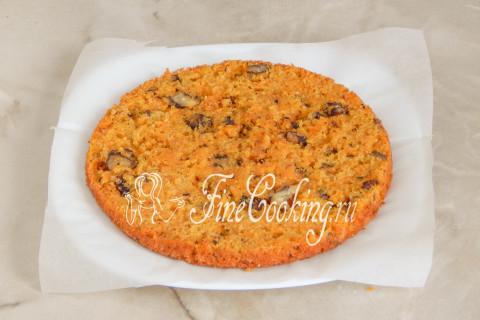 Морковный торт. Шаг 18