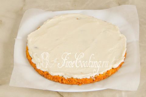 Морковный торт. Шаг 20
