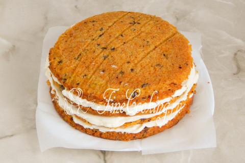 Морковный торт. Шаг 21