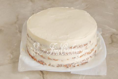Морковный торт. Шаг 22