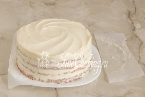 Морковный торт. Шаг 23