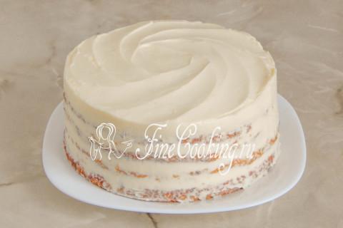 Морковный торт. Шаг 24