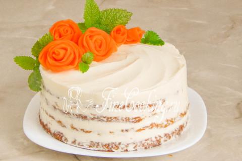 Морковный торт. Шаг 25