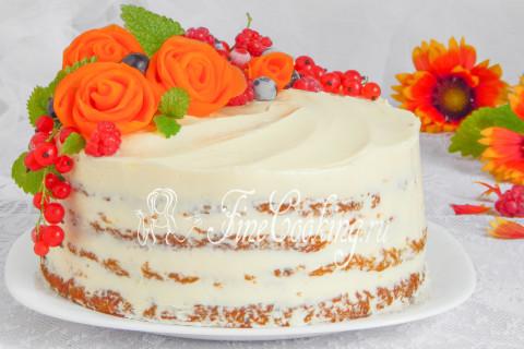 Морковный торт. Шаг 26