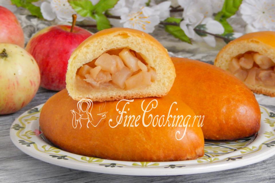 начинка для пирожков из яблок рецепт с фото
