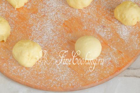 Пончики берлинеры. Шаг 12