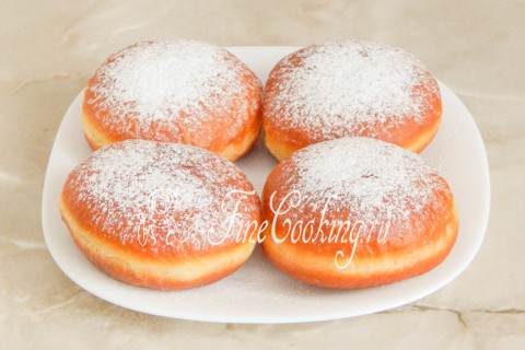 Пончики берлинеры. Шаг 22