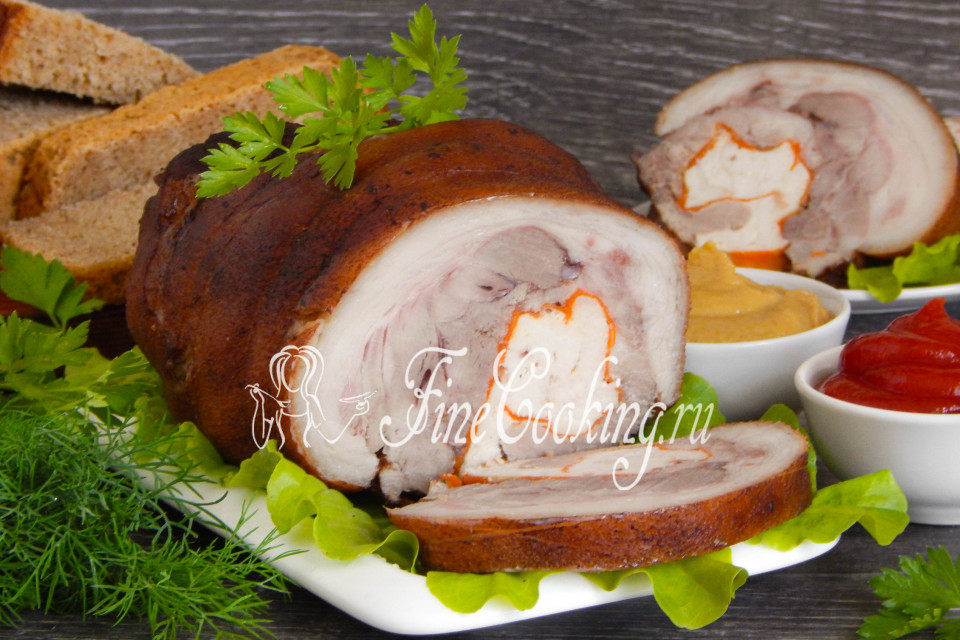 Рулька свиная отварная рецепты