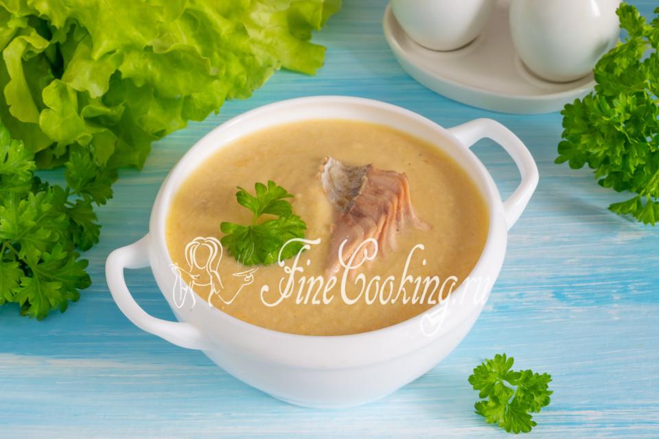 Рыбный суп-пюре из горбуши