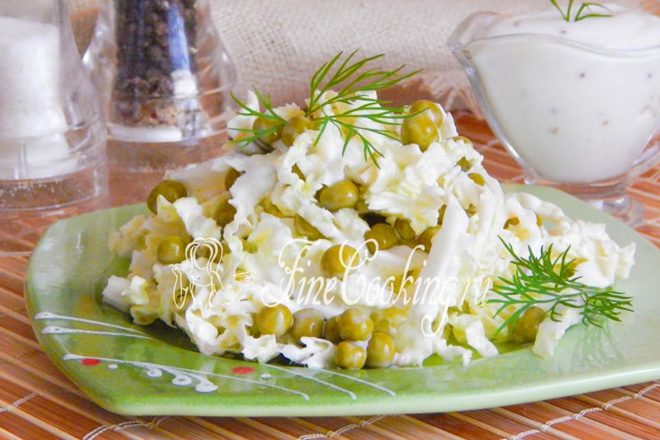 Салат с консервированной фасолью очень простые и вкусные