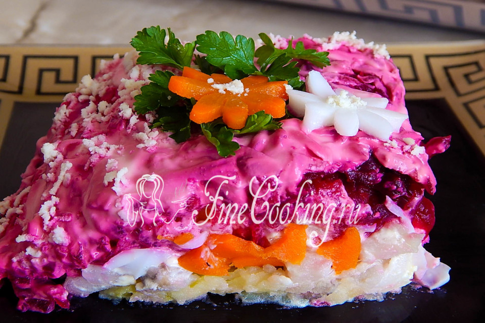Салат селедка под шубой классический рецепт 101