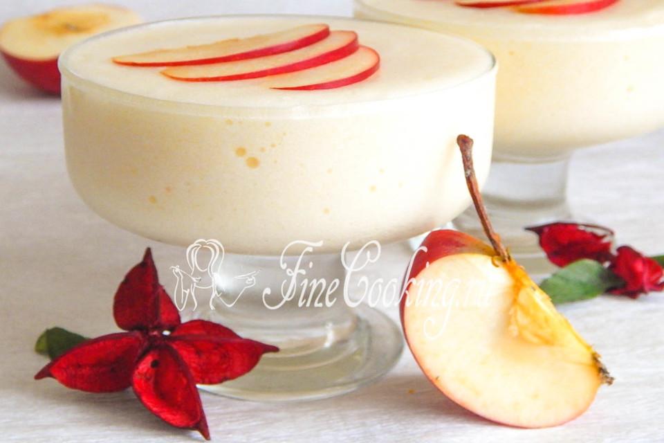 Самбука с яблоками