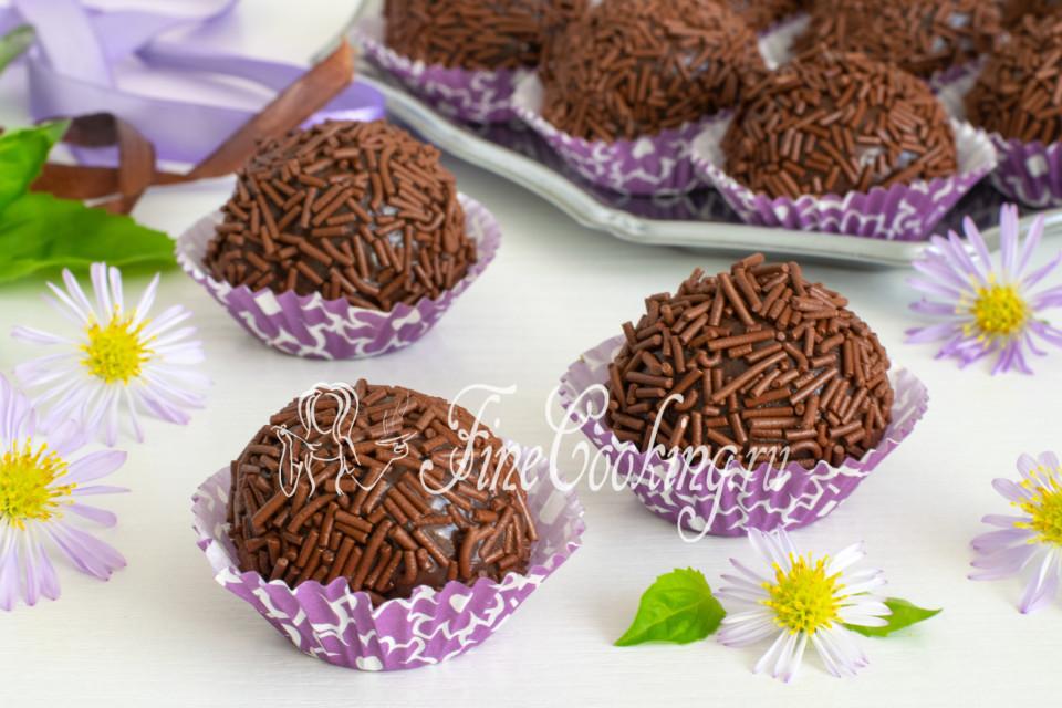 Шоколадные конфеты Бригадейро